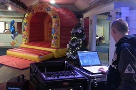 Bouncy Castle and DJ for €150